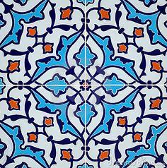 Persian tile design by Acedubai, via Dreamstime