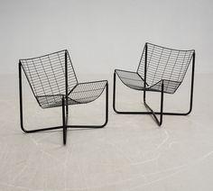 """FÅTÖLJER, ett par, """"Järpen"""", Niels Gammelgaard, Ikea."""
