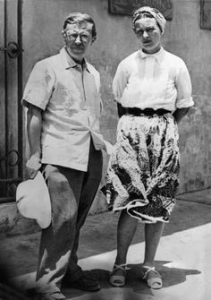 Simone de Beauvoir e Jean Paul Sartre | Fotografia