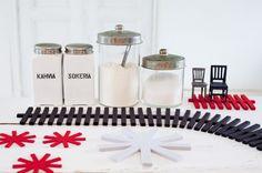 OLKI trivets and coaster, 100% wool felt / Verso Design
