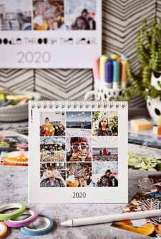 DIY | Kalender-Gestaltung mit Fotos & Zeichen-Apps - let's doodle through the year | kreative Fotobearbeitung mit dem Zeichenprogrammen | enthält Werbung | luziapimpinella.com Diy Kalender, Archive, Photo Wall, Frame, Decor, Pictures, Photo Calendar, Photo Manipulation, Doodles