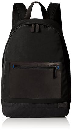 Skagen Men's Kroyer Nylon Backpack, Black, One Size