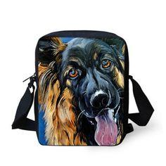 animal pet dog women messenger bag painting handbag vintage bag owl tiger brand designer lady small shoulder bags crossbody bags