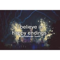 I want my happy ending