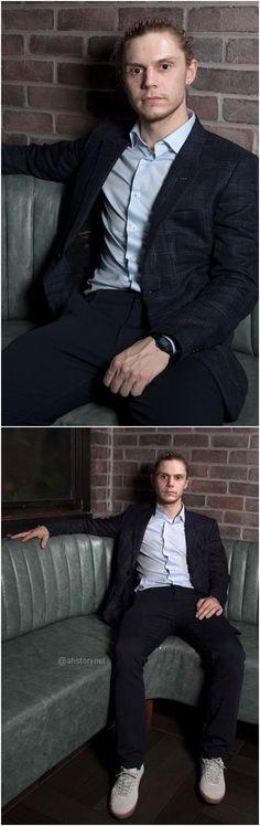 NEW | Evan Peters Photoshoot for Deadline Hollywood. Follow rickysturn/evan-peters