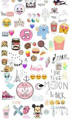 cute emojis wallpaper - Google Search