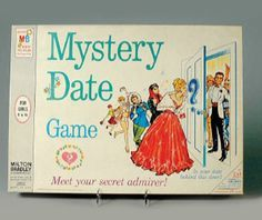 Mystery Date; don't be late-ate for your Mystery Date! Open the, door for your - Must e Mystery Date; don't be la-ate for your Mystery Date! Open the door- for- your- - Myst-ry Date! Barbie Dream, Barbie Doll, Childhood Toys, Childhood Memories, Childhood Photos, School Memories, School Days, School Stuff, Mystery Date Game