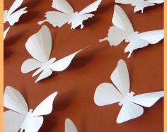 Purple Butterflies for Nursery Decor Baby Shower Bedroom