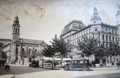 """Old """"Flower square"""" #old #Zagreb #old #pictures #oldtimes #blacknwhite #photography #CasaBlanca #18century #19century #timemachine"""