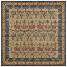 World Menagerie Fonciere Navy Blue Area Rug Rug Size: