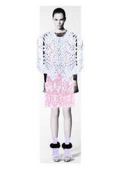 Fashion Sketchbook - fashion illustration; creative fashion collage; fashion portfolio // Peach Grove