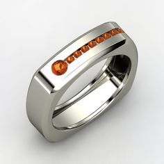 Silver Rings For Men Designs - Keyhole Ring, Men's Round Fire Opal Sterling Silver Ring | Fire ...