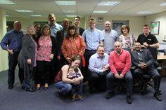 The Doro UK & Ireland team celebrating LinkedIn's Bring In Your Parents Day #BIYPDay #Doro #BIYP15