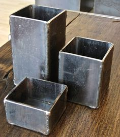 Steel Vessels ($75) like these- wish they didn't cost so much.