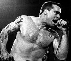 Henry Rollins.  The number one person I want to meet in the world.