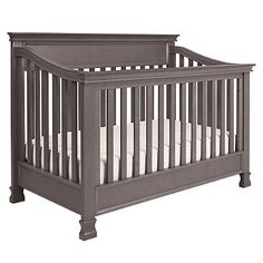 Million Dollar Baby Classic Foothill 4-in-1 Convertible Crib in Weathered Grey