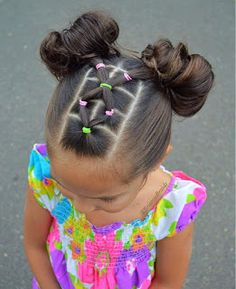 girl girl hairstyles Peinados fciles y bonitos par Lil Girl Hairstyles, Braided Hairstyles, Hairdos, Teenage Hairstyles, Simple Girls Hairstyles, Cute Toddler Hairstyles, Children Hairstyles, Pretty Hairstyles, Hairstyles Pictures