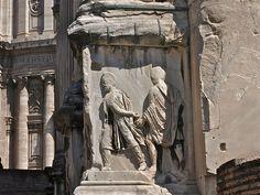 Detalle arco Septimio Severo