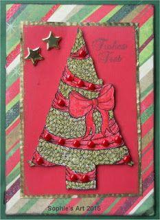 Sophie's Art: Weihnachtsbaum  --  Christmastree