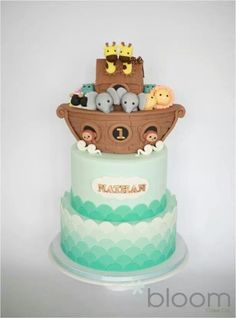 Noah ark cake