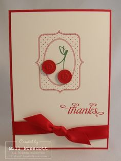 Stampin Up - thank you
