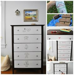 Dry Eraser Drawers | 35 Awesome Ways To Give New Life To Old Furniture