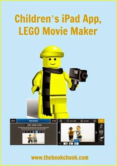 http://www.thebookchook.com/2015/09/childrens-ipad-app-lego-movie-maker.html?utm_content=buffer5533b&utm_medium=social&utm_source=pinterest.com&utm_campaign=buffer #iOSedapp #edtech and #FUN! LEGO Movie Maker