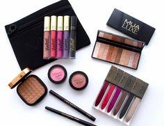 MUA Makeup Academy lipstick bronzer eyeshadow blush