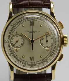 Cool Watches, Watches For Men, Retro Mode, Patek Philippe, Chronograph, Omega Watch, Wristwatches, Styles, Discovery