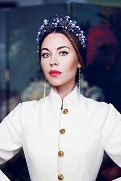 Ulyana Sergeenko - want her entire head piece collection
