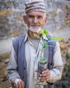"""Photo by @consciousimpact  """"Coffee is not only for me but also for future generations in my family"""" -Durga Prashad Dahal. Welcome to the cooperative Durga! We're excited to have you and your family farming for generations to come. #MoreThanaTree - To help us support farmers like Durga please click the link in our bio.  #coffeee #environment #trees #nature #dogood #behappy #love #travel #travelabroad #nepal #Kathmandu #farmer #nepal #farms #farming #volunteer #volunteerabroad #wanderlust…"""