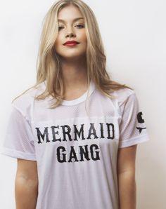 Mermaid Gang Jersey - Ivory Coast by Apuletown | Sirens & Mermaids - Project Mermaids Store