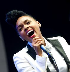 Janelle Monae- She's got such a unique style!! I absolutely love it!!