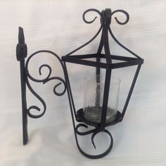 Southern Living at Home Natchez Street Lantern Sconce Black Wrought Iron Candle Sconces, Wall Sconces, Home Lanterns, Southern Living Homes, House Floor Plans, Wrought Iron, Entryway, Wall Lights, Flooring
