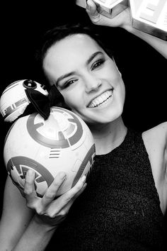 Oh my goodness Daisy and a formal BB8