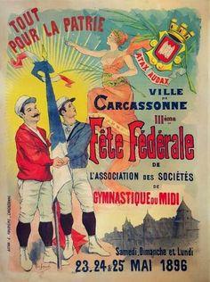 Affiche originale de 1896.