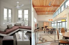 Ventiladores de techo modernos para un verano fresquito  |  DECOFILIA.com