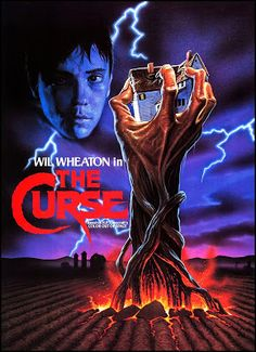 The Curse - 1987 - Movie Poster Horror Movie Posters, Movie Poster Art, Film Posters, Horror Movies, Horror Pics, Horror Art, Zombie Movies, Sci Fi Movies, Scary Movies