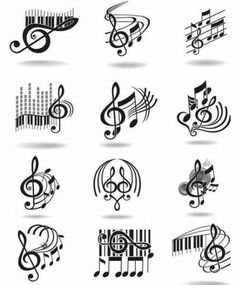 some music 🎶 tat ideas 💡! Music Drawings, Music Artwork, Art Drawings, Music Tattoo Designs, Music Tattoos, Ink Tattoos, Tatoos, Doodles Zentangles, Tattoos For Women Small