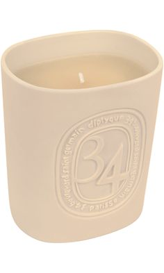Diptyque 34 Boulevard Saint Germain Candle at Barneys New York Mini Candles, Scented Candles, Green Candles, Round Candles, Boulevard Saint Germain, Paris Souvenirs, Cosy Night In, Candle Diffuser, Green Home Decor