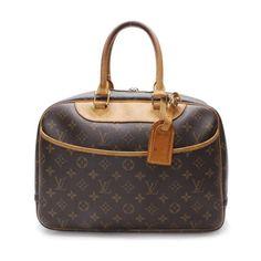 Louis Vuitton Boring Vanity (Deauvill Monogram Handle bags Brown Canvas M47270