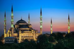 The Blue Mosque - Istanbul, Turkey - The perfect view of a truly beautiful place.