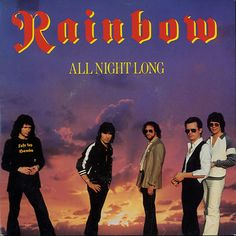 """For Sale -Rainbow All Night Long - P/S UK  7"""" vinyl single (7 inch record)- See this and 250,000 other rare and vintage records & CDs at http://eil.com/"""