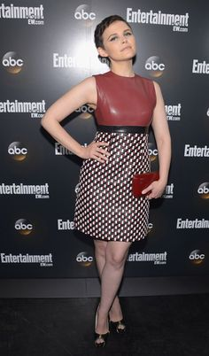 """Ginnifer Goodwin (""""Once Upon a Time"""") attends the Entertainment Weekly and ABC Upfront VIP Party at Dream Downtown on May 15, 2012 in New York City."""