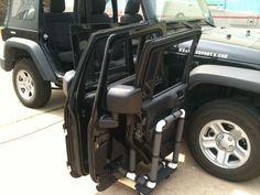 Jeep Wrangler 4 Door Rack : Addendum