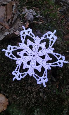 Crochet Patterns Galore - Yeti Snowflake