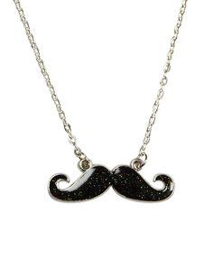 Mustache Charm Necklace | Necklaces | Jewelry | Shop Justice