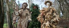 Spain. Every first Sunday of the year, the village of Silió (Molledo, Cantabria) celebrates this carnival-type festival symbolising the triumph of good over evil.