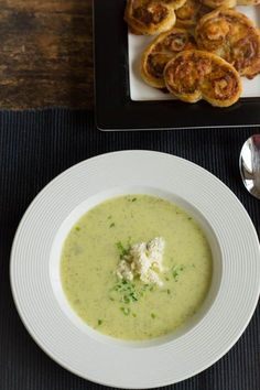 Courgettesoep recept / Zucchini soup