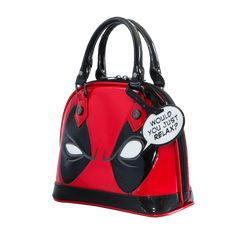 Marvel x Loungefly Deadpool bag Boutiques Australia, Inked Shop, Inked Magazine, Marvel X, Just Relax, Deadpool, Gym Bag, Purses, Mini